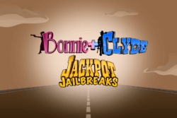 Bonnie and Clyde Jackpot Jailbreaks mobile slots by Mr Spin