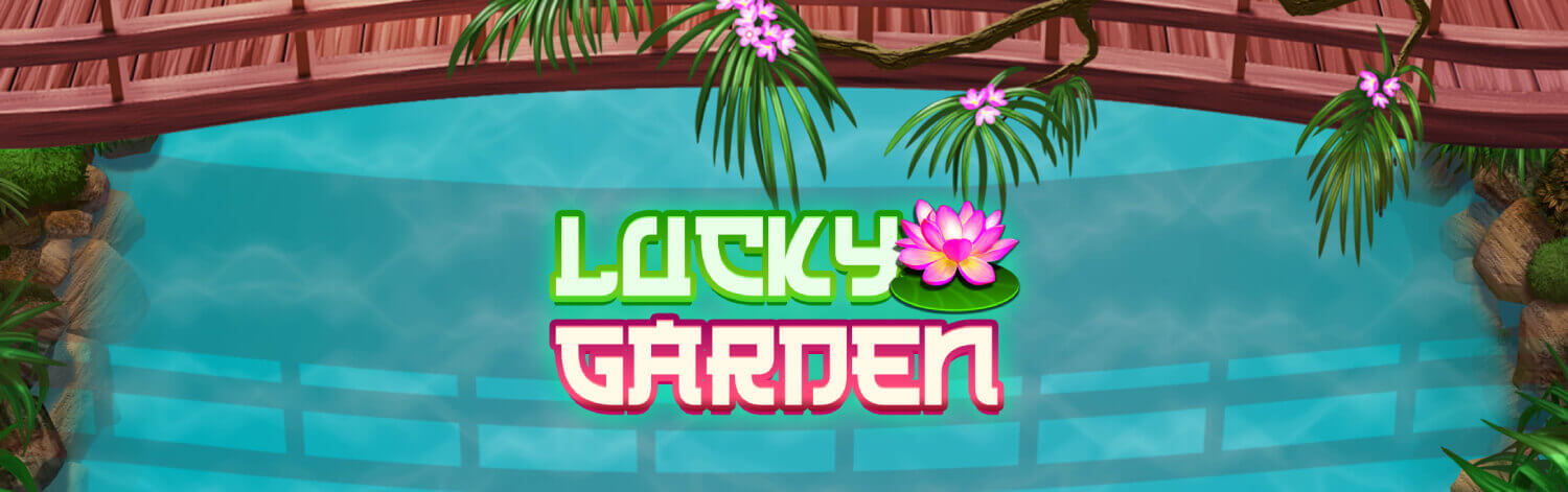 NEW GAME: Take a walk down the path to big wins with Lucky Garden!